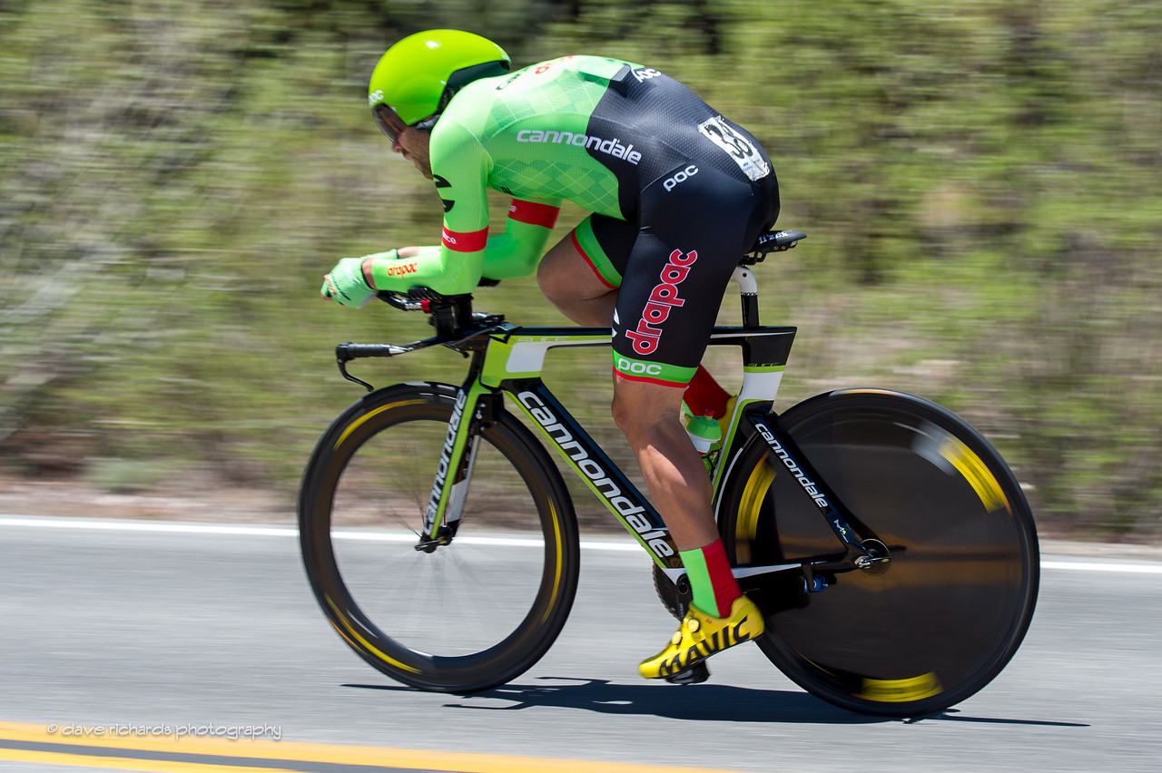 Green blur. Individual Time Trial, Men's Stage 6, 2017 Amgen Tour of California (Photo by Dave Richards, daverphoto.com)
