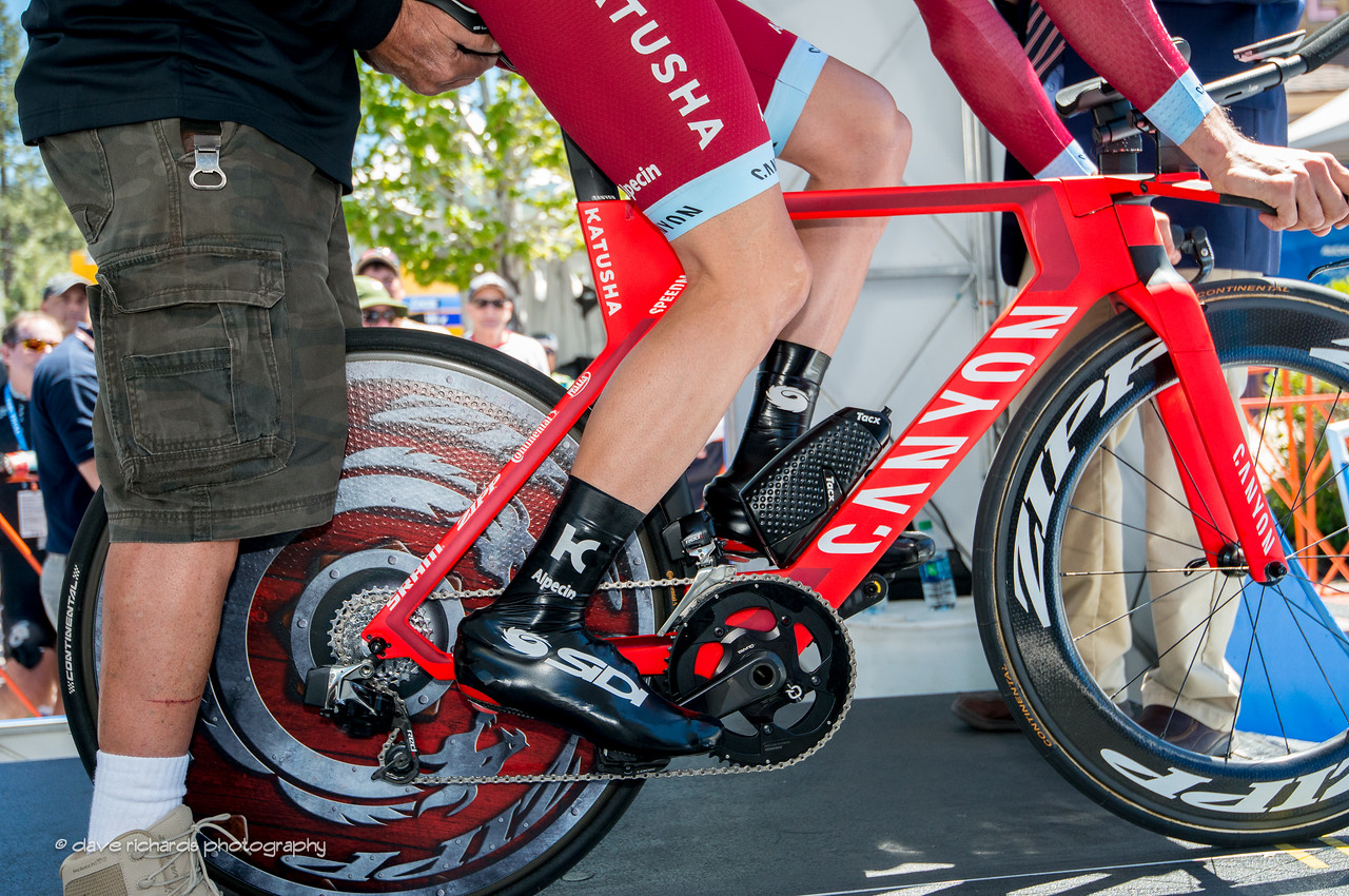 Man & Machine. Individual Time Trial, Men's Stage 6, 2017 Amgen Tour of California (Photo by Dave Richards, daverphoto.com)