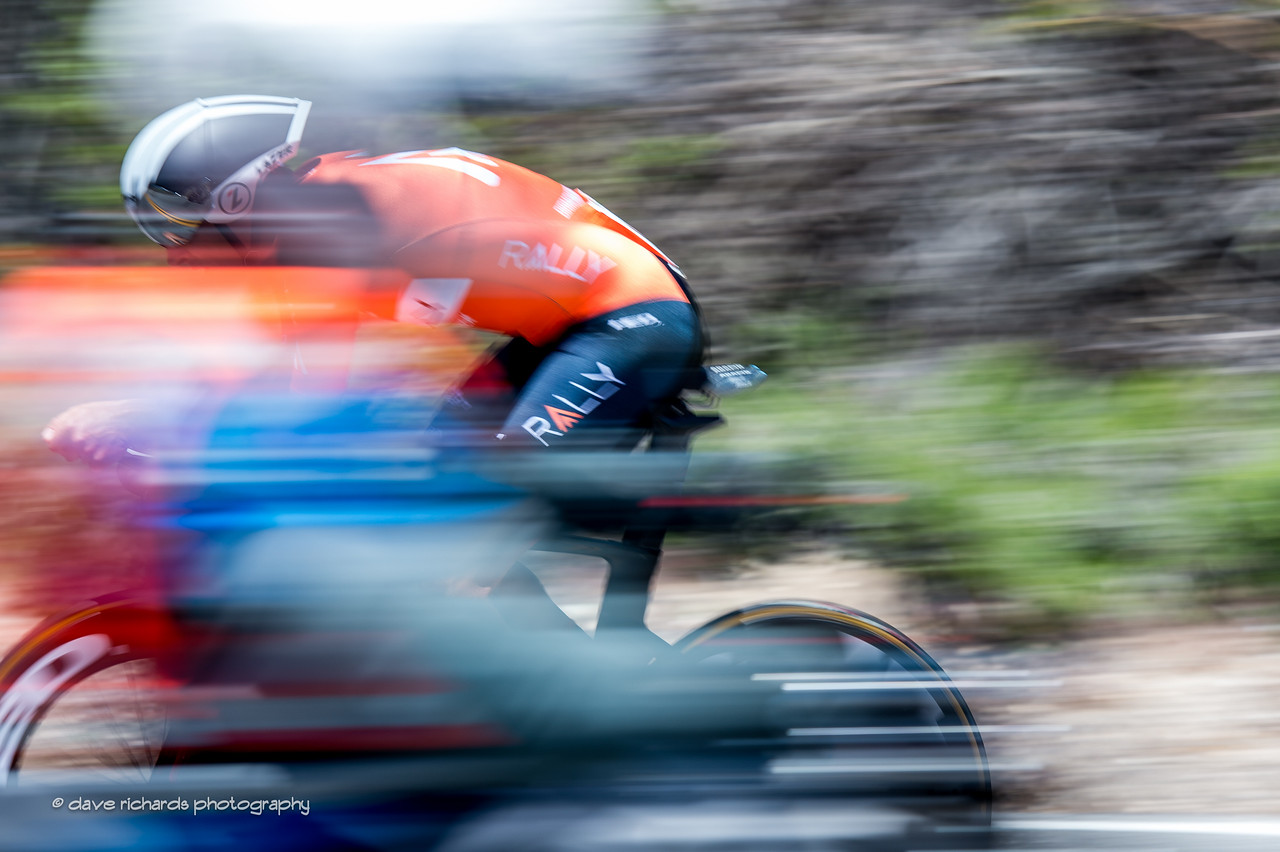 Double blur. Individual Time Trial, Men's Stage 6, 2017 Amgen Tour of California (Photo by Dave Richards, daverphoto.com)