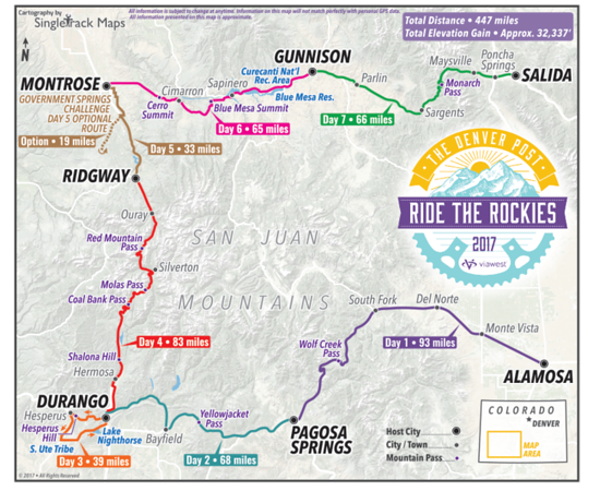 2017 Ride the Rockies