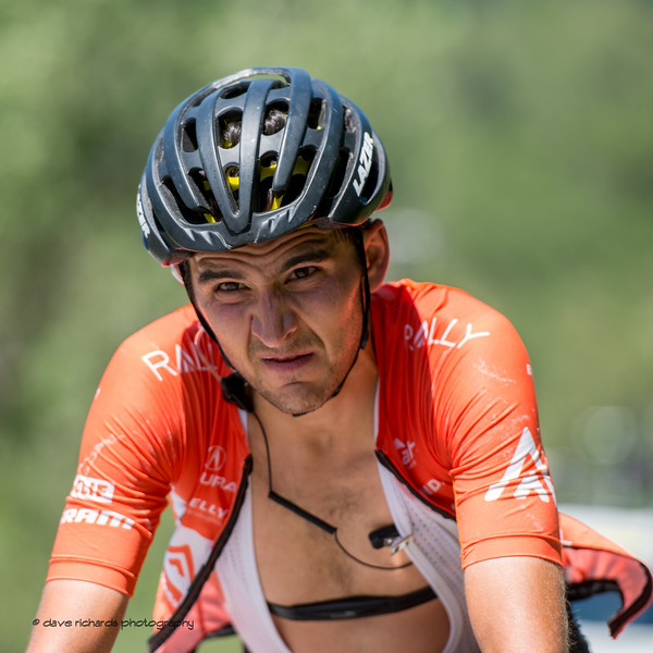 Pain 1. Stage 2, BrighamCity-SnowBasin,  2017 LHM Tour of Utah (Photo by Dave Richards, daverphoto.com)