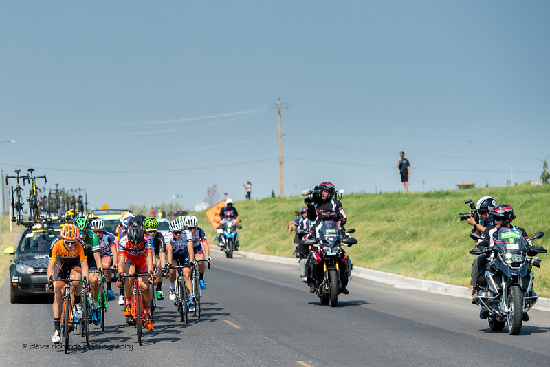 All eyes are on the breakaway riders during Stage 5, Layton to Bountiful,  2017 LHM Tour of Utah (Photo by Dave Richards, daverphoto.com)
