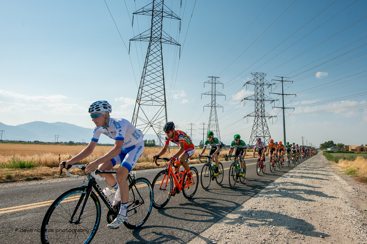Towers of Power. Stage 5, Layton to Bountiful,  2017 LHM Tour of Utah (Photo by Dave Richards, daverphoto.com)