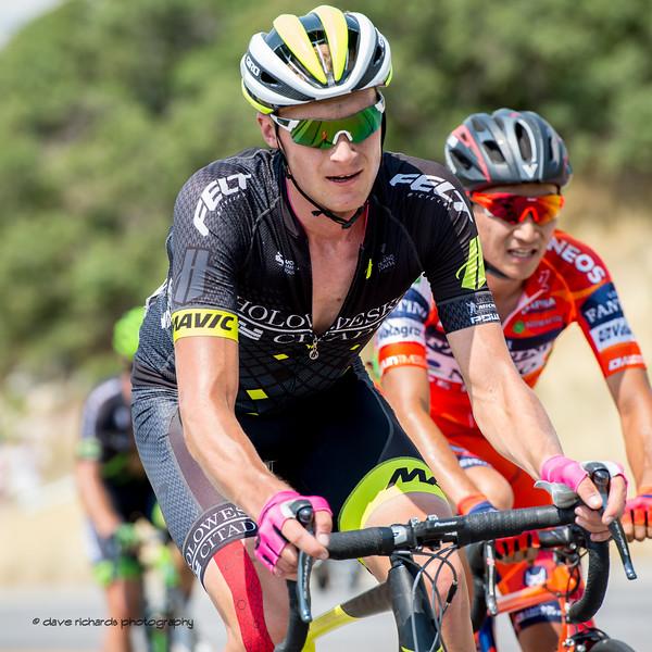 Tough climb, Bountiful Bench. Stage 5, Layton to Bountiful,  2017 LHM Tour of Utah (Photo by Dave Richards, daverphoto.com)