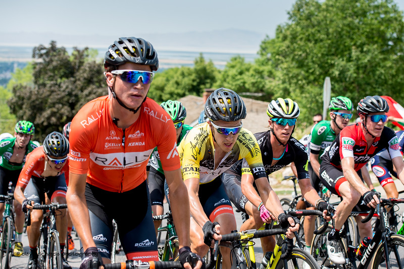 Everyone suffers on the Bountiful Bench climb. Stage 5, Layton to Bountiful,  2017 LHM Tour of Utah (Photo by Dave Richards, daverphoto.com)