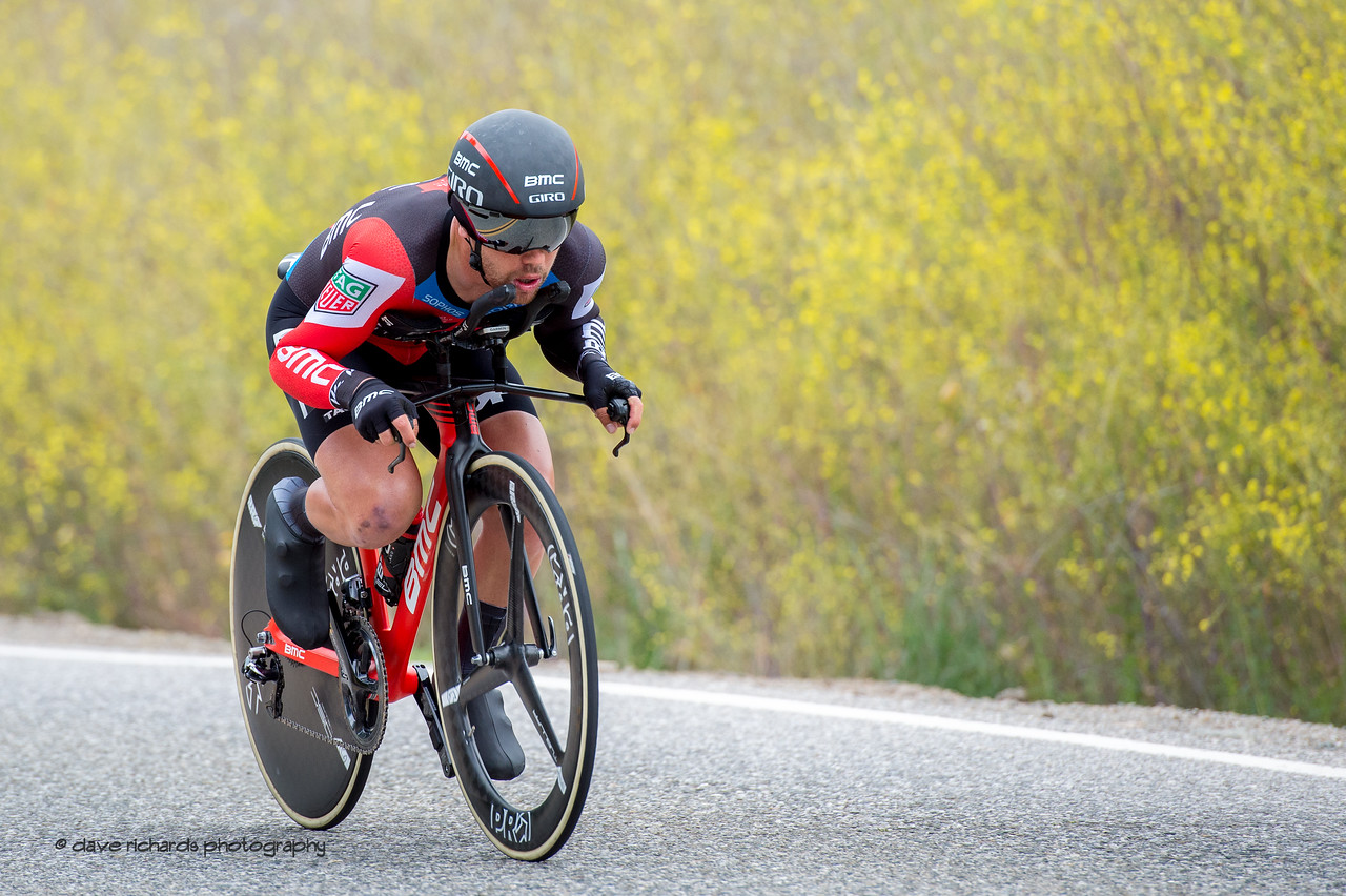 Don't try this at home, kids. Men's Stage Four, Individual Time Trial, Morgan Hill, 2018 Amgen Tour of California cycling race (Photo by Dave Richards, daverphoto.com)