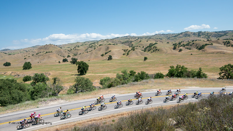 Big sky, golden hills 2. Men's Stage Three from King City to Laguna Seca Race Track, 2018 Amgen Tour of California cycling race (Photo by Dave Richards, daverphoto.com)