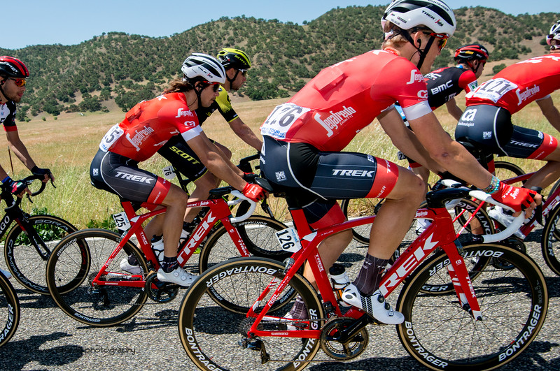 Team Trek Segafredo. Men's Stage Three from King City to Laguna Seca Race Track, 2018 Amgen Tour of California cycling race (Photo by Dave Richards, daverphoto.com)