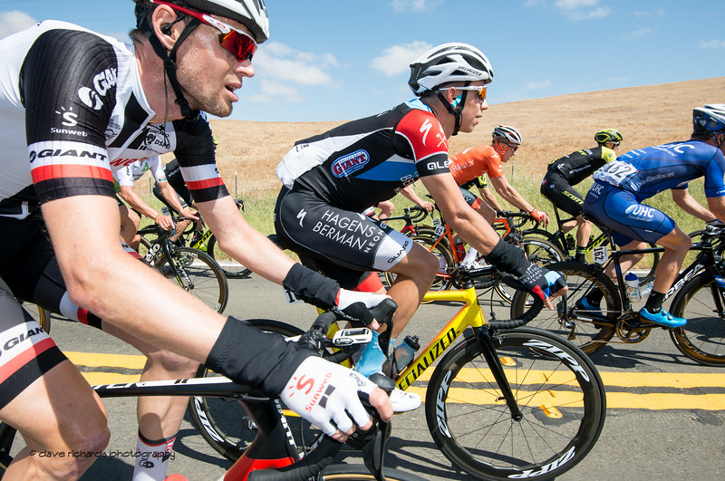 Workin' it! Men's Stage Three from King City to Laguna Seca Race Track, 2018 Amgen Tour of California cycling race (Photo by Dave Richards, daverphoto.com)