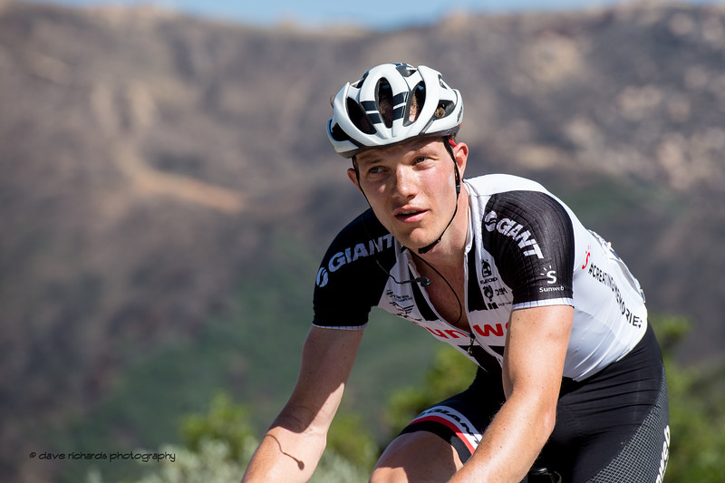 Not more climbing? OH NO!  Men's Stage Two from Ventura to Gibraltar Road, 2018 Amgen Tour of California cycling race (Photo by Dave Richards, daverphoto.com)