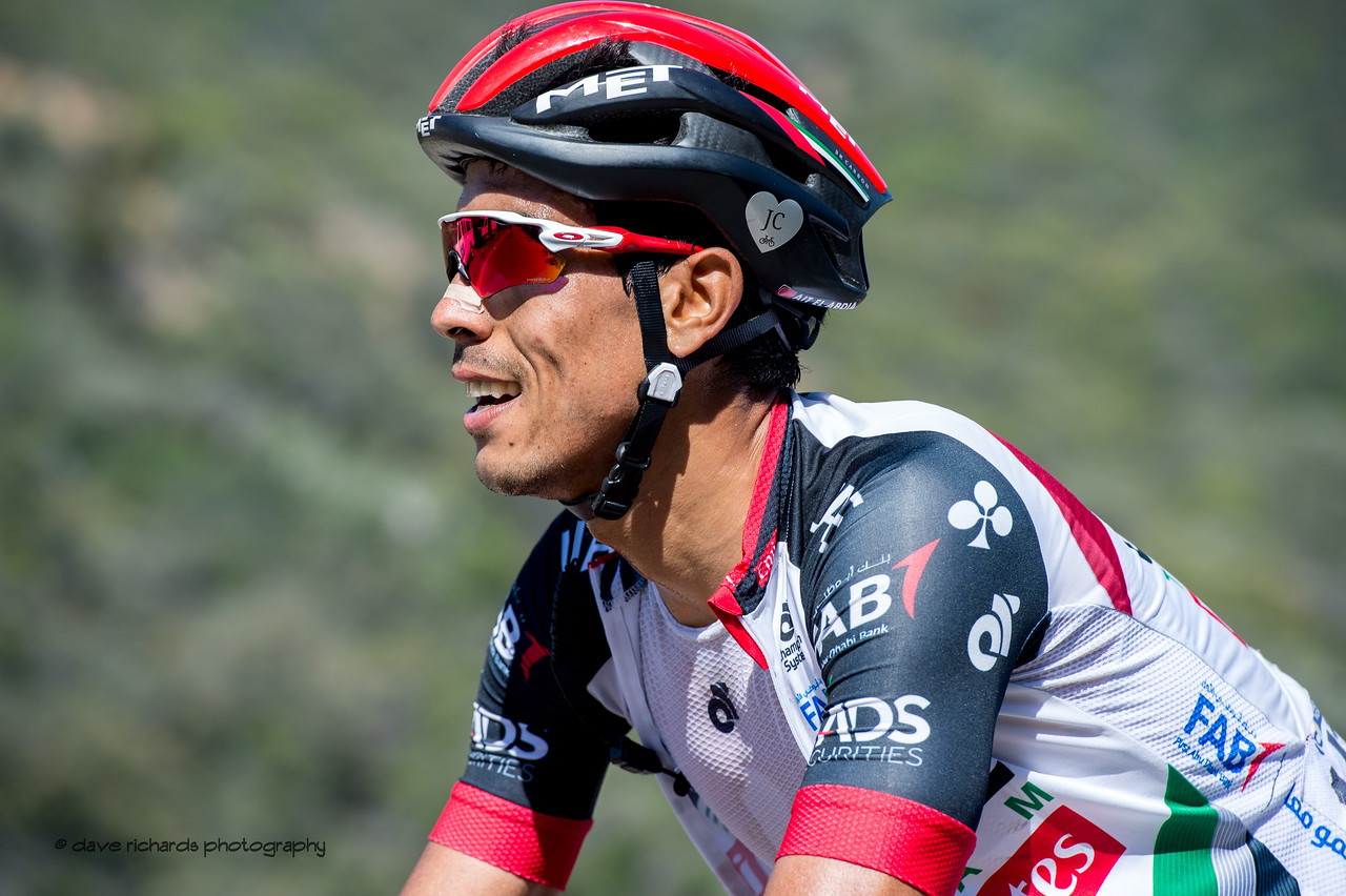 Pain & Concentration. Men's Stage Two from Ventura to Gibraltar Road, 2018 Amgen Tour of California cycling race (Photo by Dave Richards, daverphoto.com)
