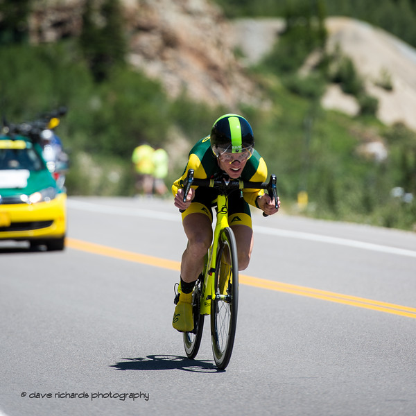 Focused! Prologue at Snowbird, 2019 LHM Tour of Utah (Photo by Dave Richards, daverphoto.com)