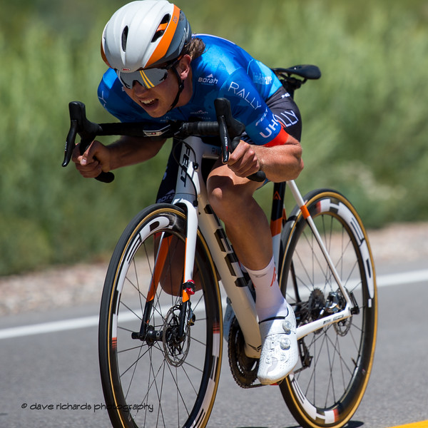 Can you get any lower on the bike? Prologue at Snowbird, 2019 LHM Tour of Utah (Photo by Dave Richards, daverphoto.com)