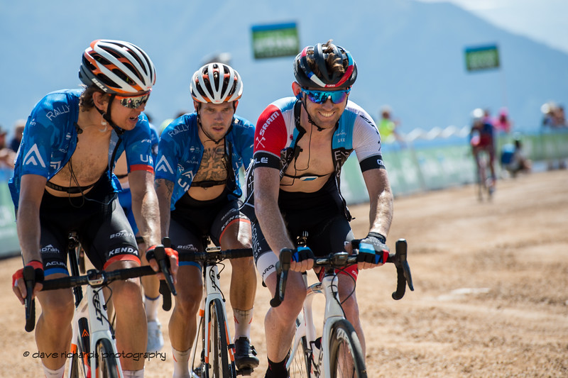 """Now that wasn't so hard was it?"" Stage 2 - Brigham City to Powder Mountain Resort, 2019 LHM Tour of Utah (Photo by Dave Richards, daverphoto.com)"