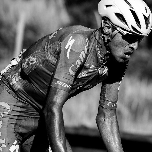 Pain in Black & White. Stage 5 - Canyons Village Park City Mountain Resort, 2019 LHM Tour of Utah (Photo by Dave Richards, daverphoto.com)