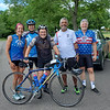 With the Morris Area Freewheelers Bike Club