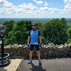 At George Washington's vantage point overlooking Eastern New Jersey to watch the movement of British troops