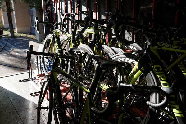 Axeon Cycling's Cipollini Bikes.