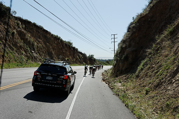Axeon Cycling Team Camp training in California.