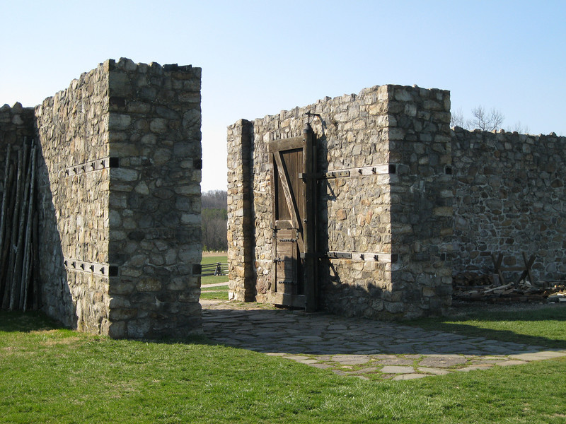 The Fort entrance.
