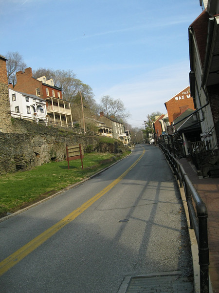 Harpers Ferry. This was our base for the second night.