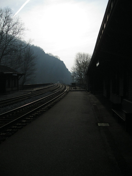 Harpers Ferry Rail station.