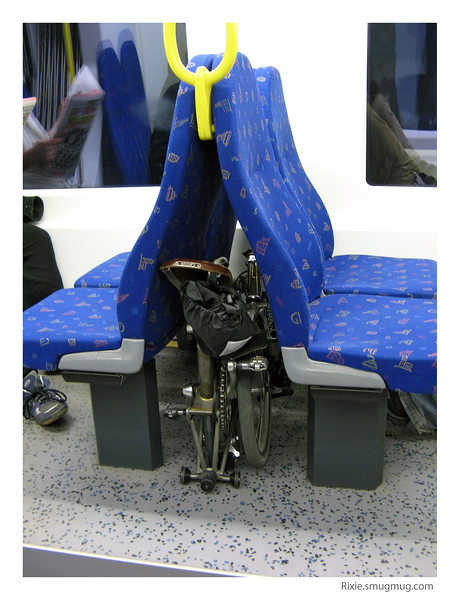No need to be dependant on busses or bike locks anymore...