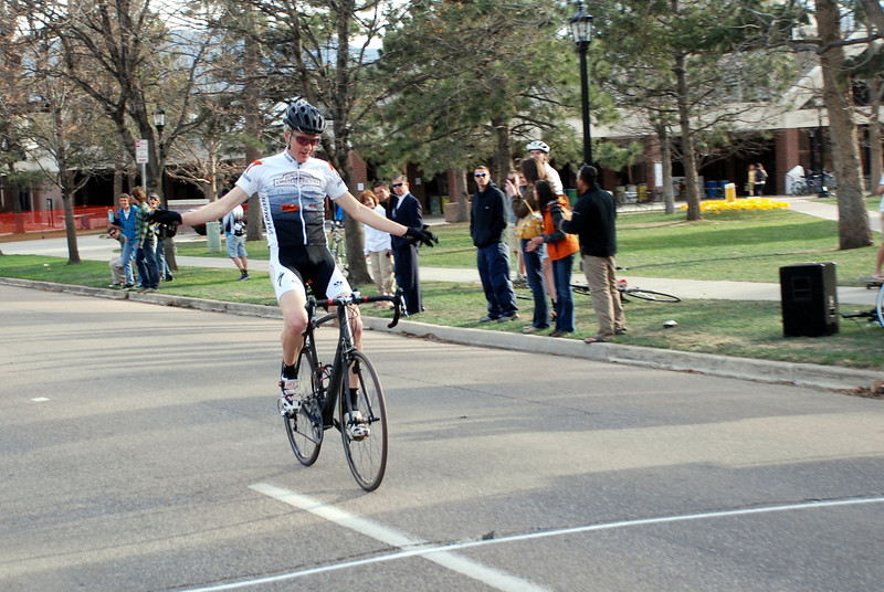 Colorado College Criterium - Matt Shriver Solos in for the Win in the Pro Men 1/2 Race