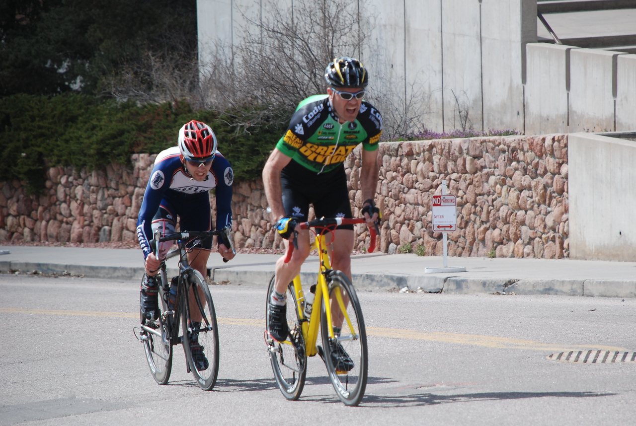Norm Alvis in Cat 3/4 Race