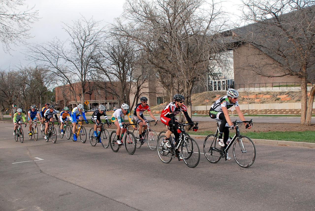 Colorado College Criterium Pro Men 1/2