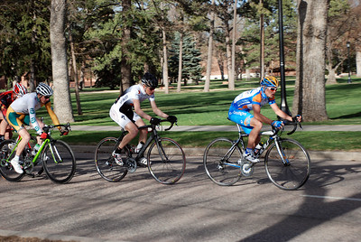 Colorado College Criterium Mens Pro 1/2 Lead Group