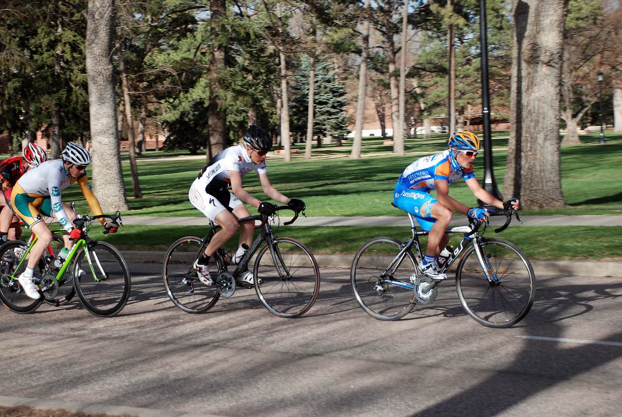 Colorado College Criterium Mens Pro 1/2 Lead Group