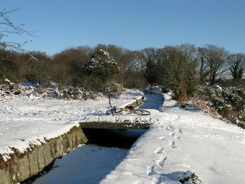 Leat near Clearbrook