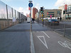 Cycle path-pedestrian conflict