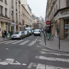 Contraflow Bile Lane on Rue du Temple