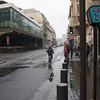 Bike, Bus Lane on Rue du Renard