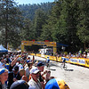 The finish line of Stage 7 of the Tour of California after 76.2 miles & 11,610 feet of climbing.