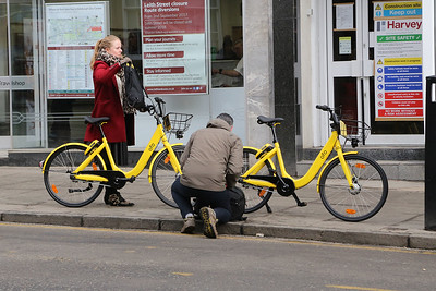 Are these not 'ofo' looking bikes?