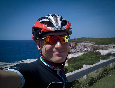 David at Cape Solander, Jan 7th 2012