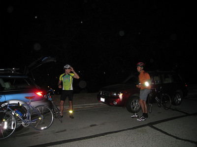 After we rode the flats for 20 miles, we reached the gate at Diablo.  Then the climbing begins.
