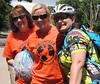 Yolanda, Elise and Snowcatcher, 2014 High Roller Training Ride