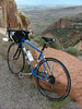 My first attempt up Colorado National Monument after back surgery.  I DID make it to the stop this ride!