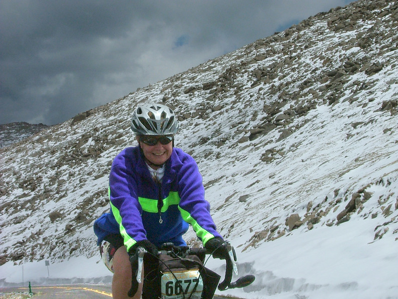My first Mount Evans attempt after back surgery