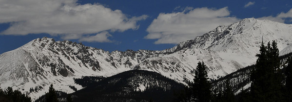 Ellingwood Ridge and La Plata Peak