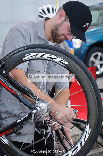 500+ racers kept Indy Service Course busy all day