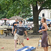 CornHole tournament sponsored by Sun King Brewing