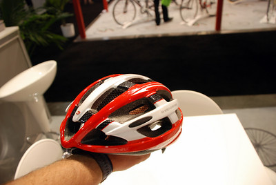 Limar's Helmet has Bug Netting