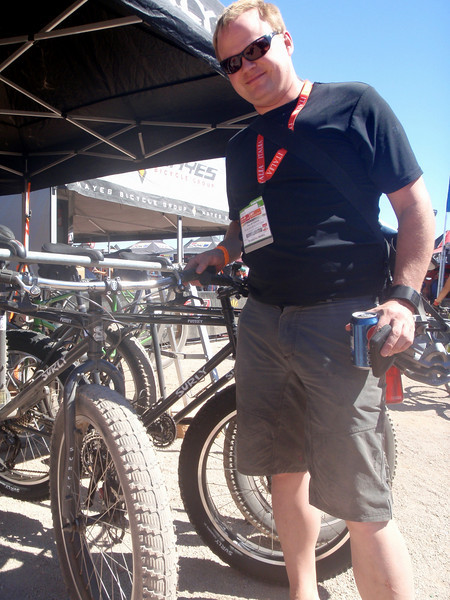 Jon Severson with Surly's Pugsly