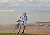 Scottish Cyclocross Championship race at Irvine Beach Park, 24 November 2013.