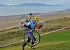 Scottish Cyclocross Championship race at Irvine Beach Park, 24 November 2013.